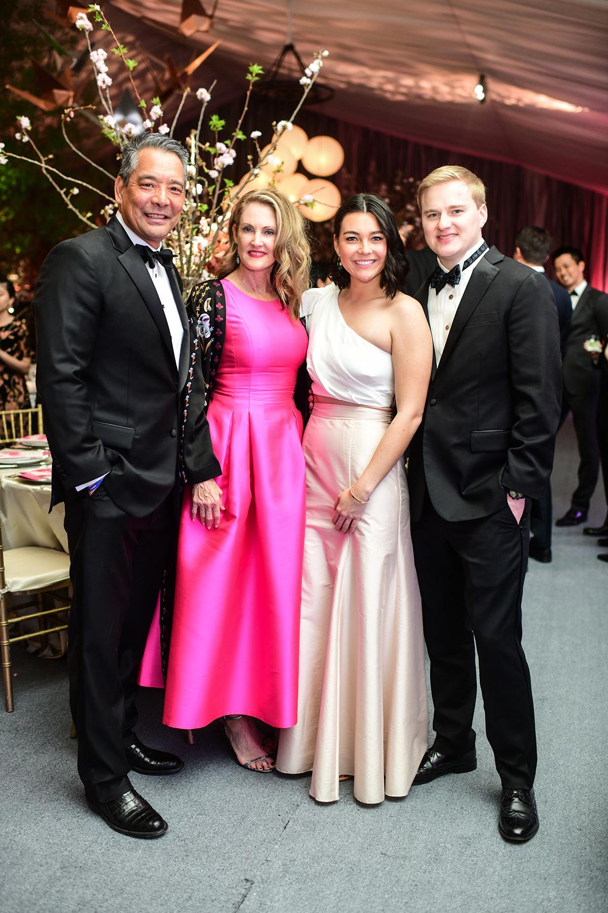 Frank and Stephanie Tsuru & Bailey Tsuru and Tanner Saha
