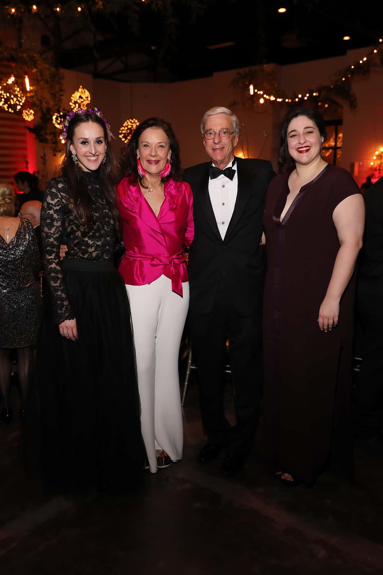 Franny Edmundon, Sally and Philip Edmundson and Maria Edmundson