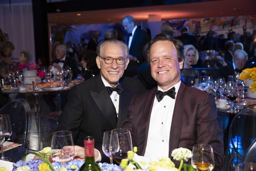 Gary Tinterow and Christopher Gardner