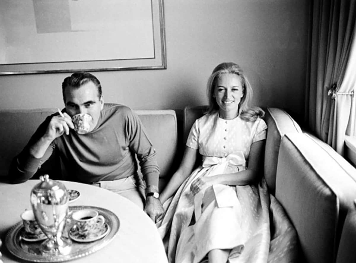 Harding Lawrence and Mary Wells Lawrence, 1968