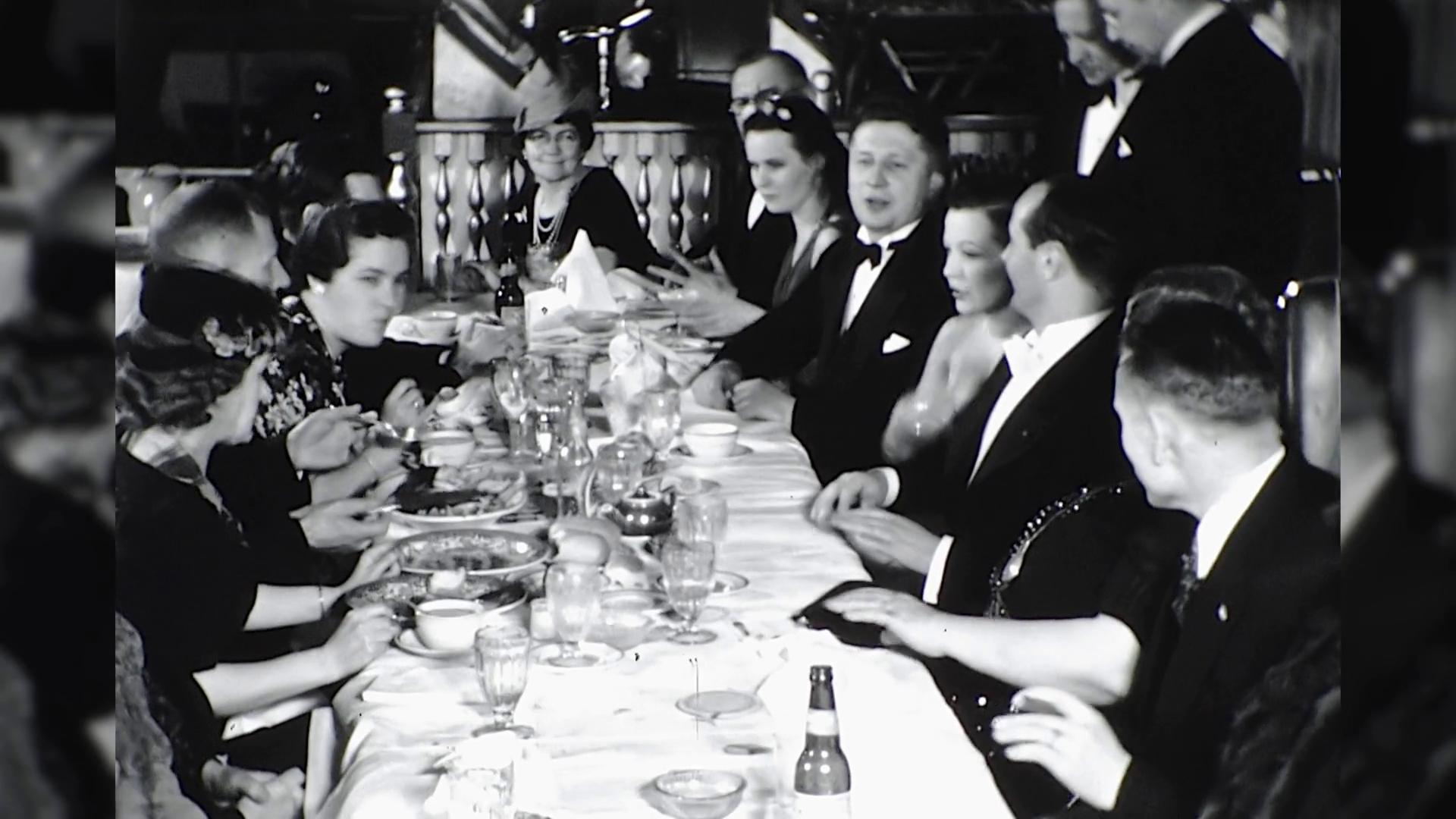 High society, 1930s