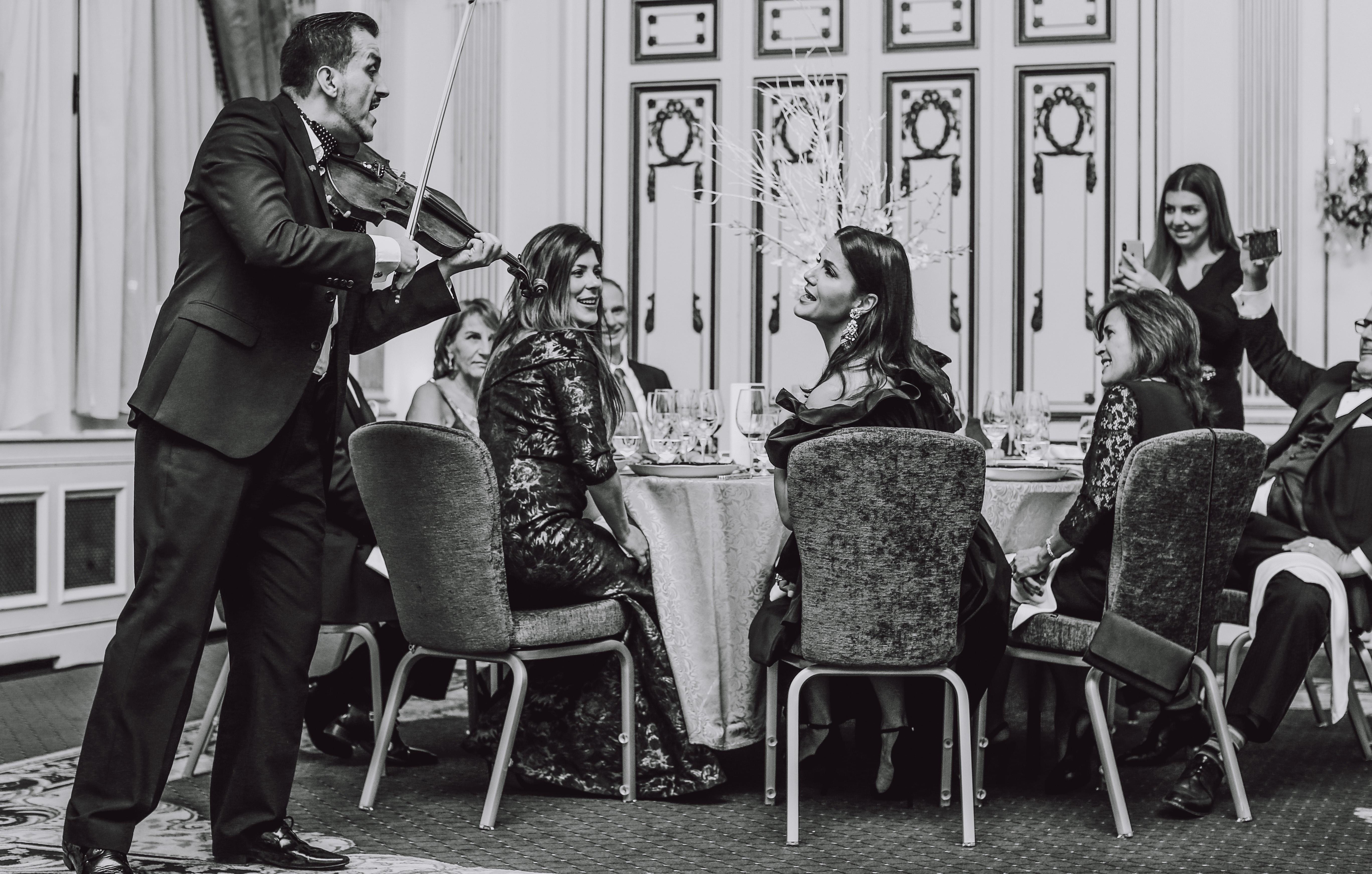Hon. Marie-France Andre, Kristal Powell, Eleni Korani and Ana Maria Reategui