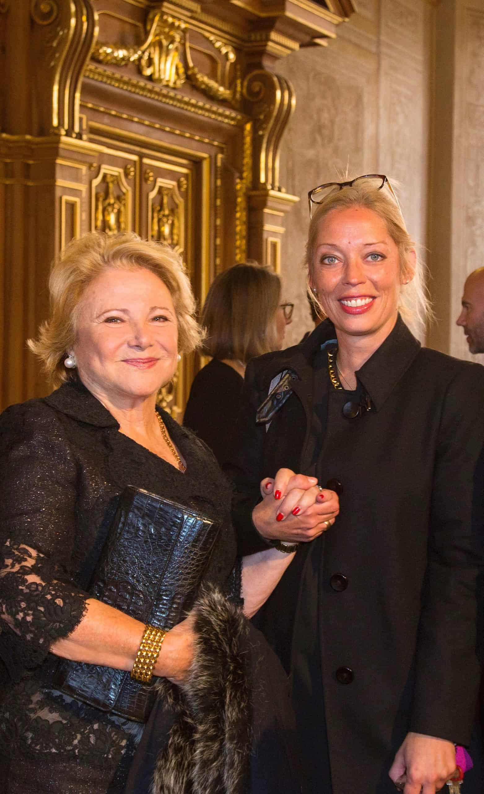 Hon. Mary Mochary and Dr. Yvonne Schülke