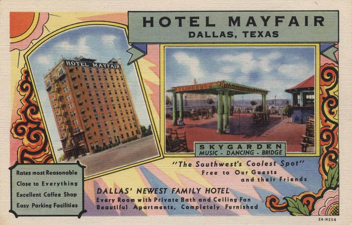 Hotel Mayfair, 1930s