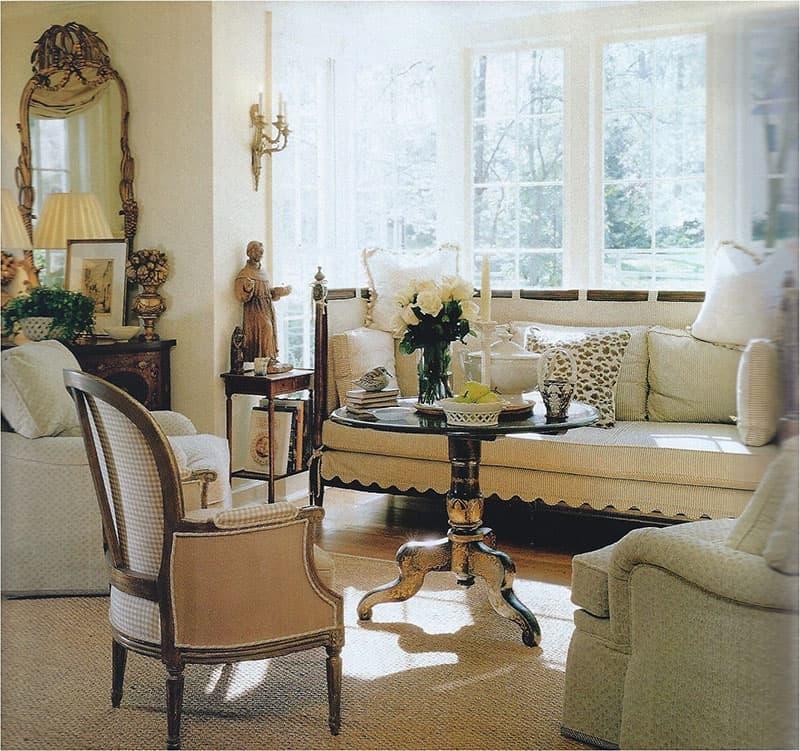 Interior by John Saladino