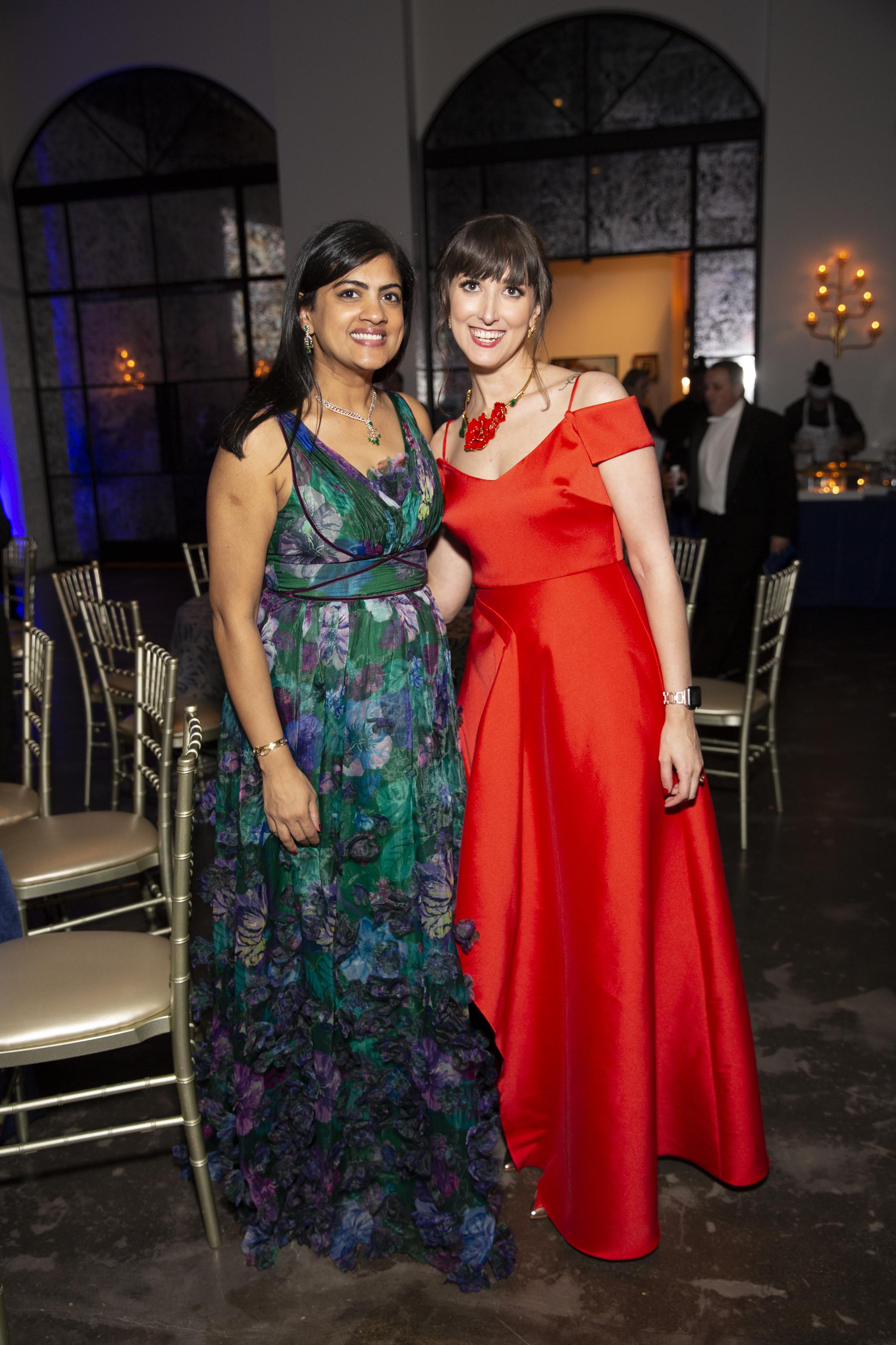 Ishwaria Subbiah and Emily Bivona