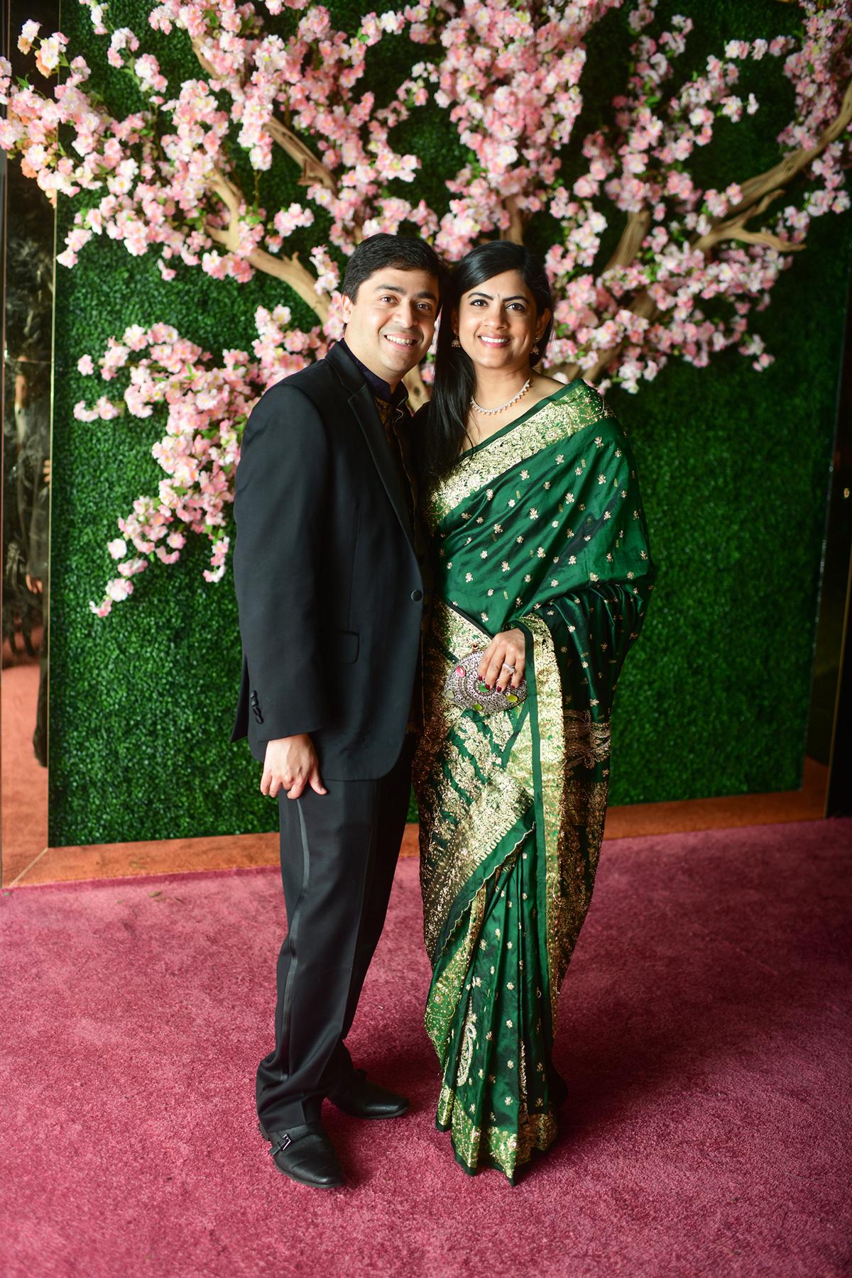 Iswaria and Vivek Subbiah