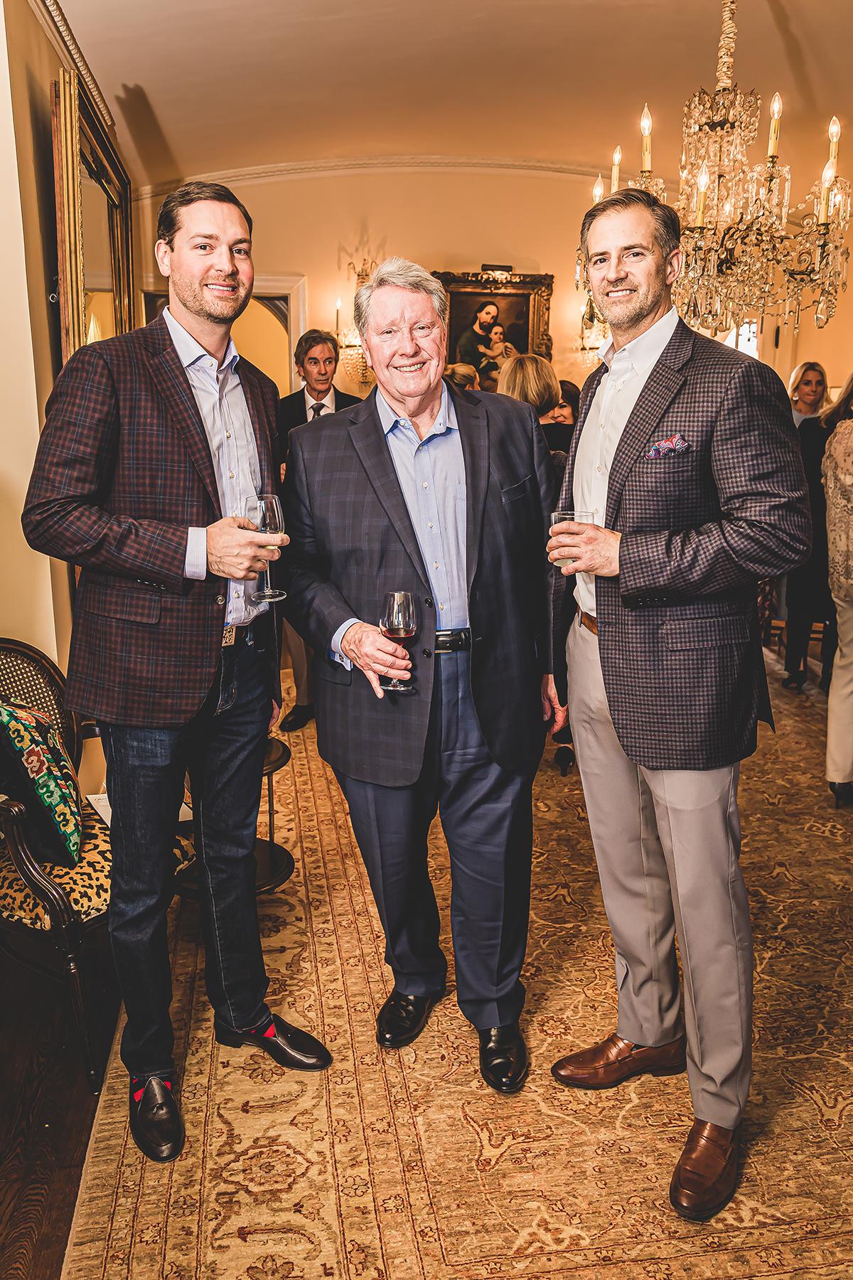 JB Richter, Corbett Christie and Ben Swaney