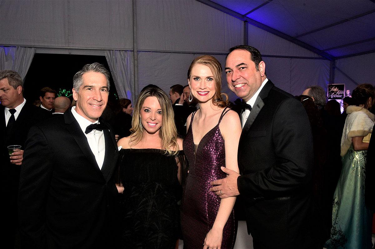Jake and Kim Aalfs, Callie Ramirez and Dr. Stephen Ramirez