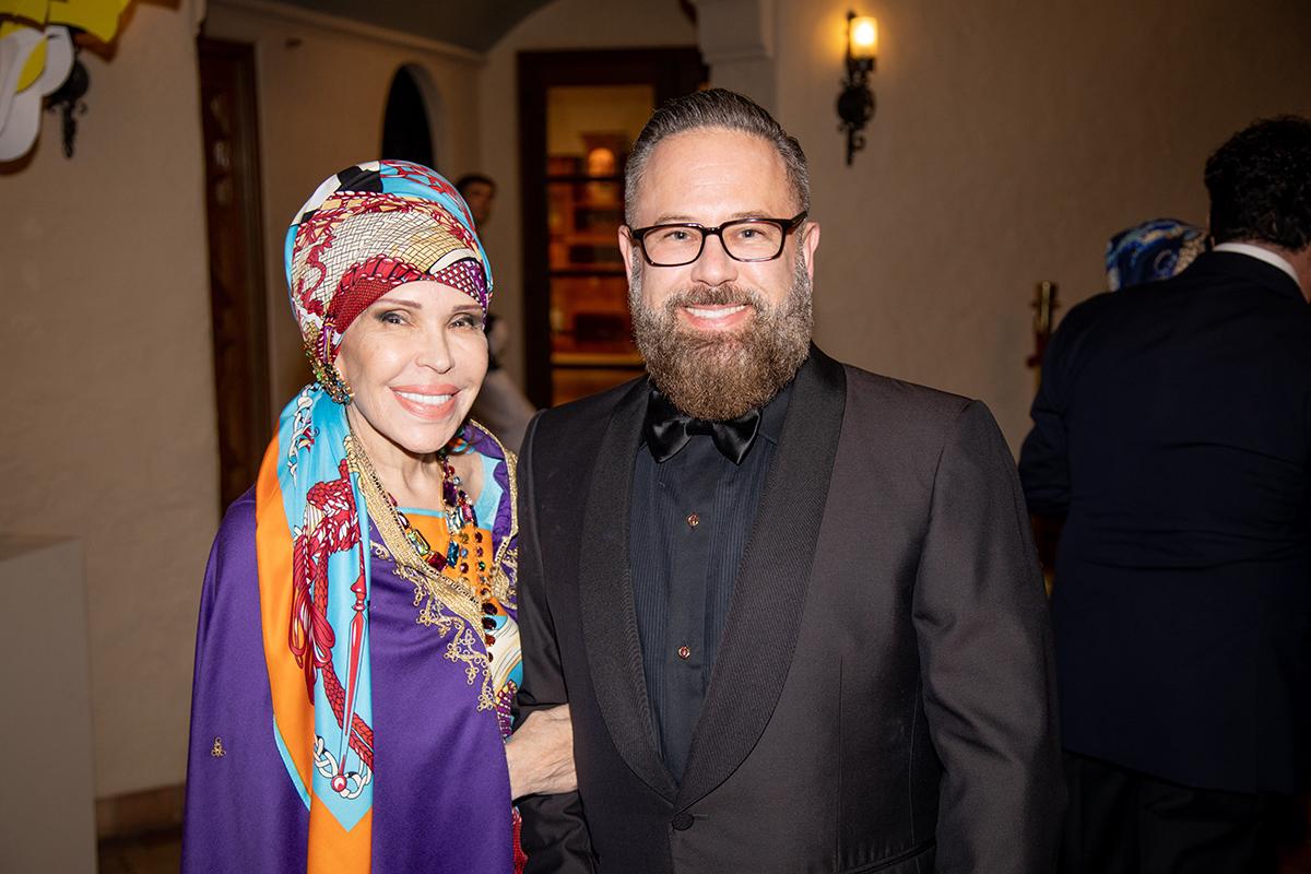 Jana Jaffe and Jim Foster