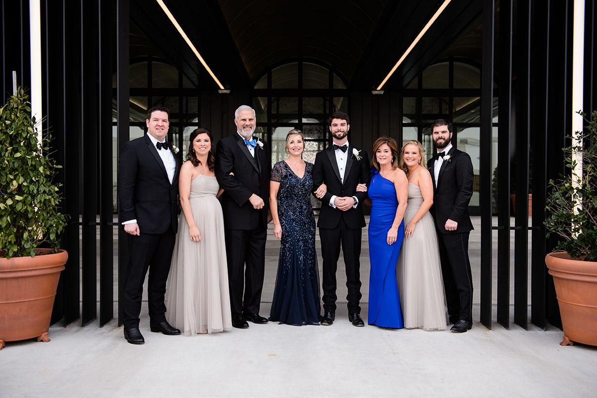 Jared Smith, Lindsey Fondren Smith, Walter Fondren, Saundra Jeffries, Ryan Fondren, Kelli Fondren & Keni and Chase Fondren