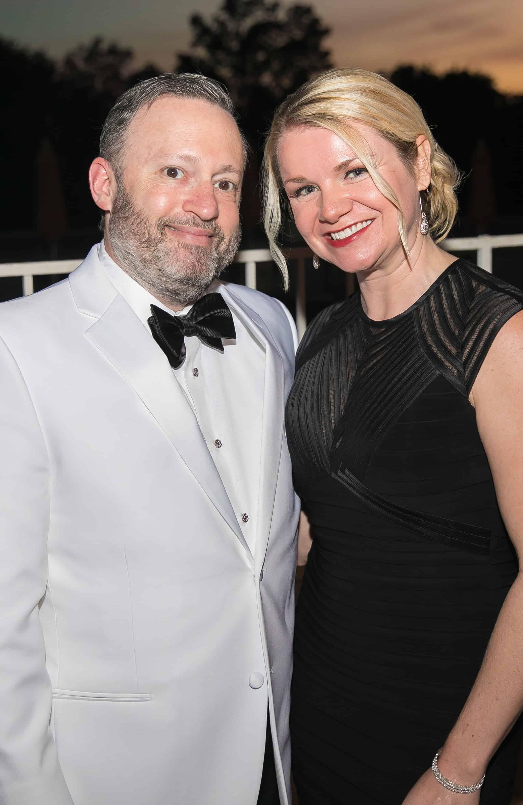 Jay Bernhardt and Cassie Alvarado