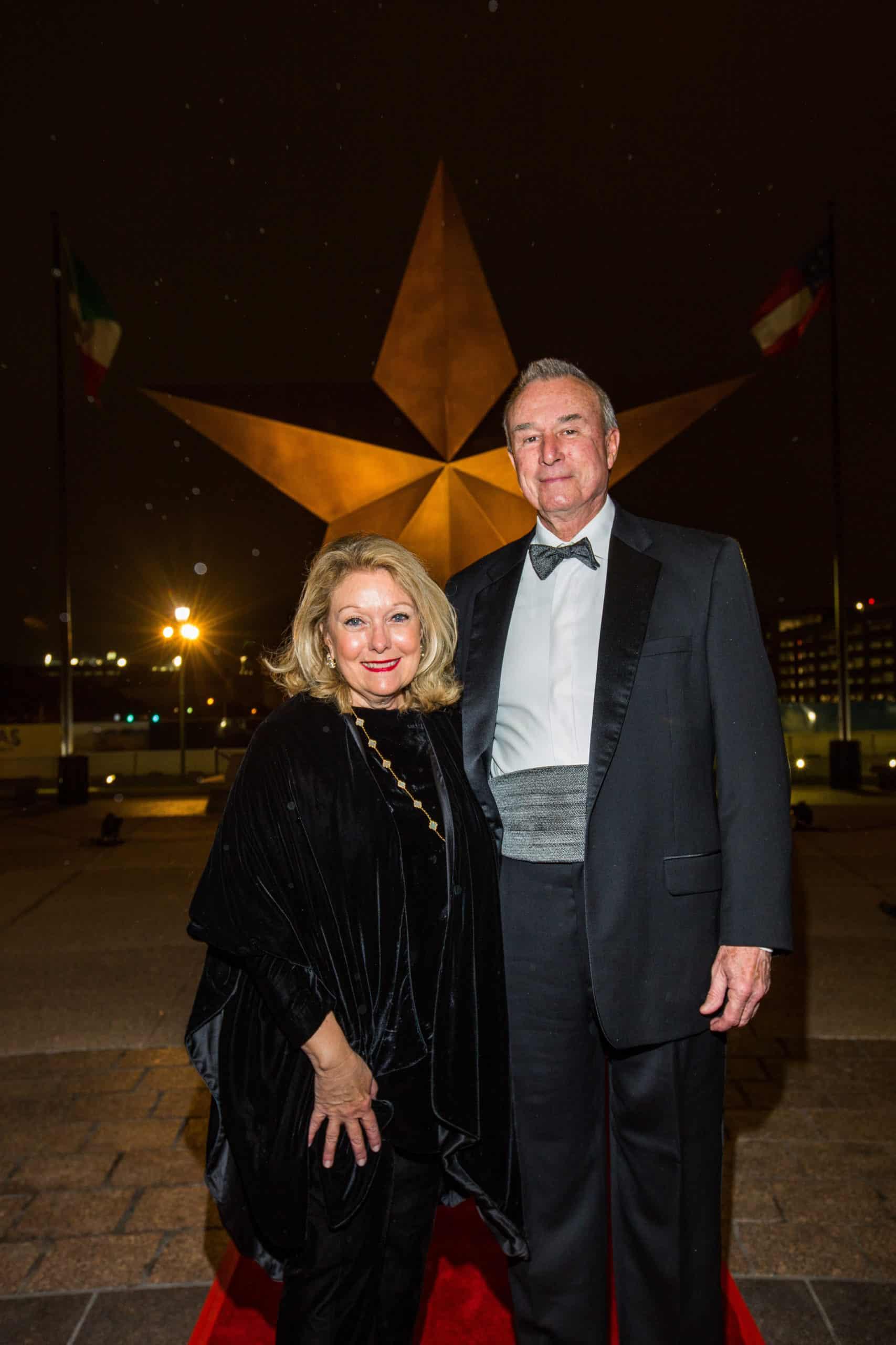 Jeanne Johnson Phillips and Dr. Martin Hurst