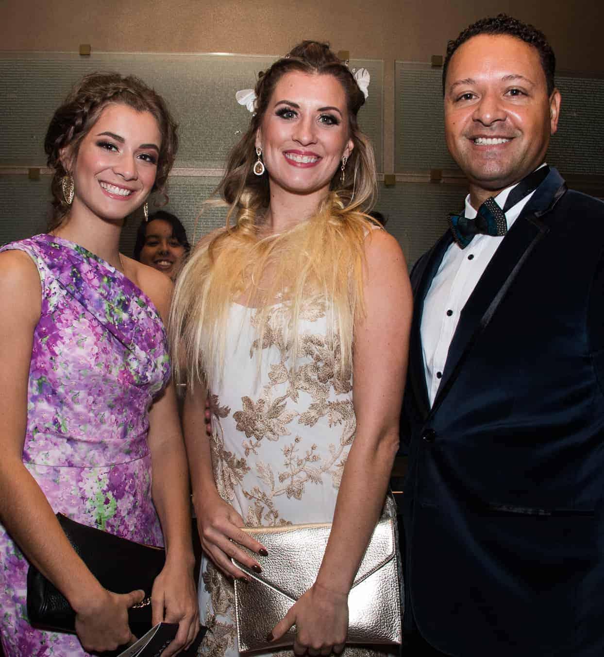 Jenna Simons, Ari Hartung and Michael Simons