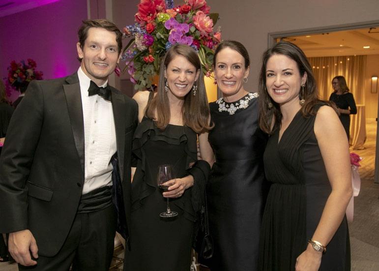 Jody Goehring, Katie Romano, Caroline Smith and Katherine Goehring