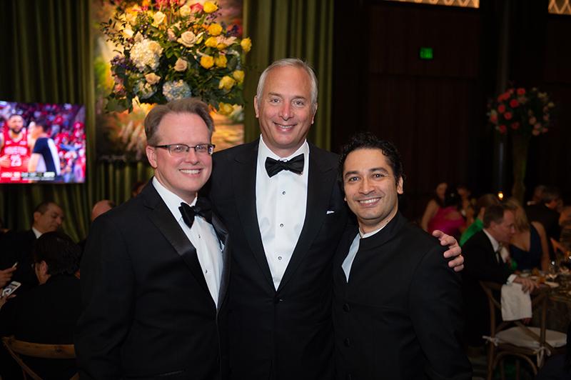 John Mangum, Bobby Tudor and Andres Orozco-Estrada