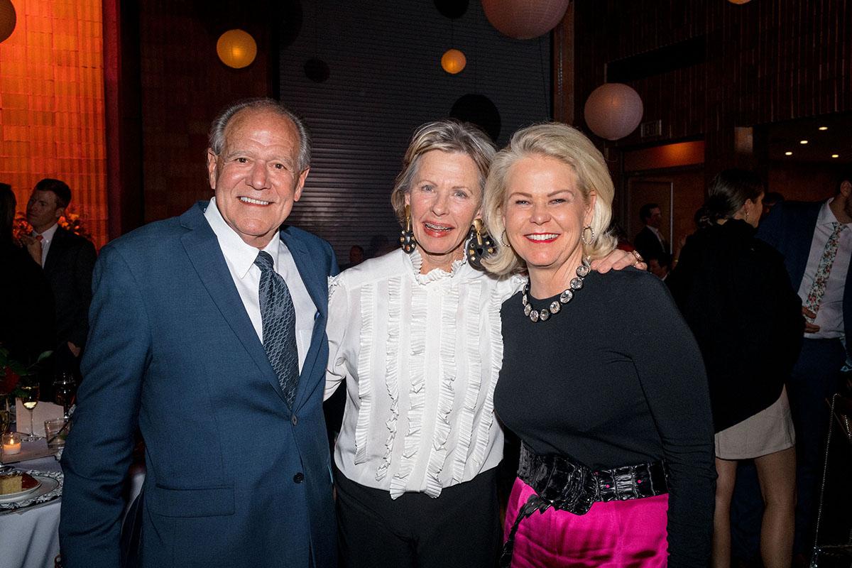John Oberman, Courntey Walker and Nancy Oberman