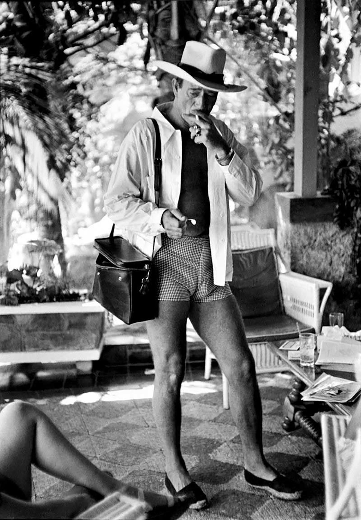John Wayne, Acapulco, 1953