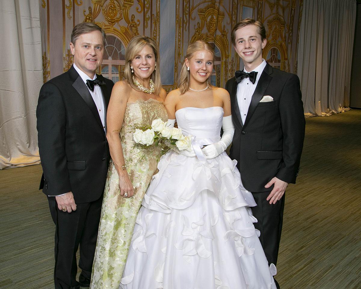 John and Kerri Ann Chambless, Abigail Chambless and Johnny Chambless