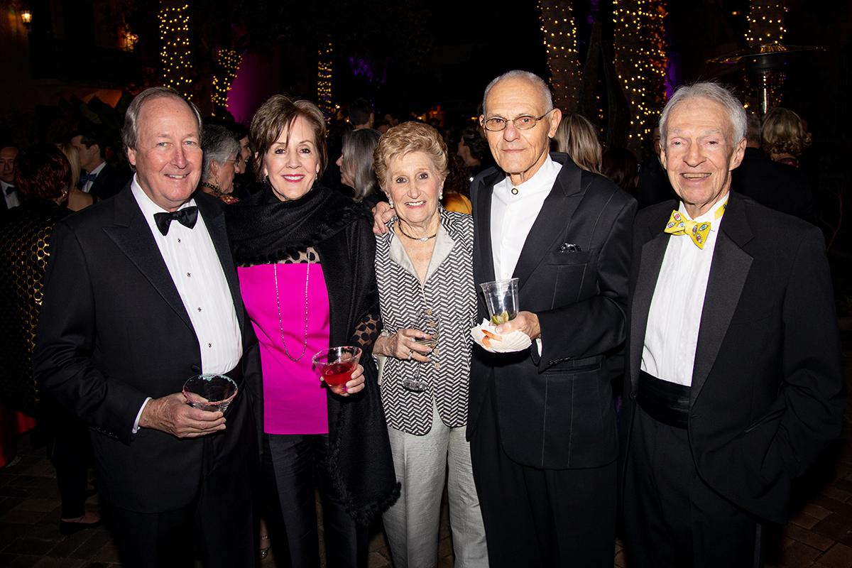 John and Susan Kerr, Sandy and Mel Weingart & Dr. Joe McFarlane