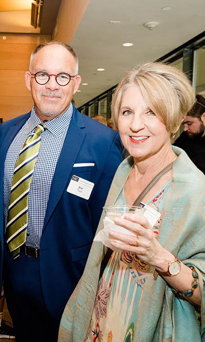 Jon Finck and Stephanie Barko