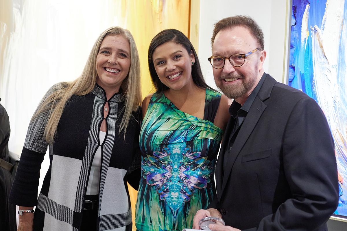 Joni Wysocki, Miranda Grant and Steven Pace