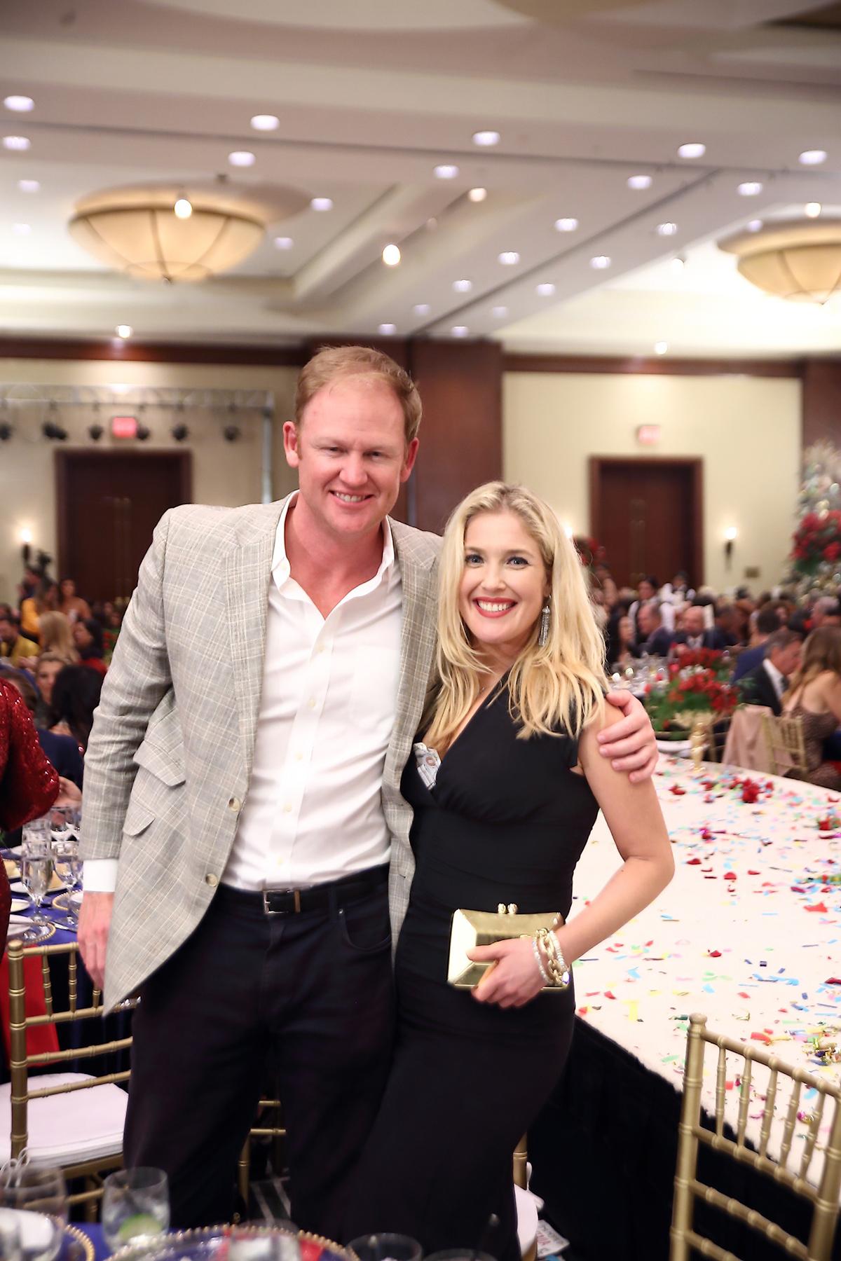Jordan Frazier and Jennifer Roosth