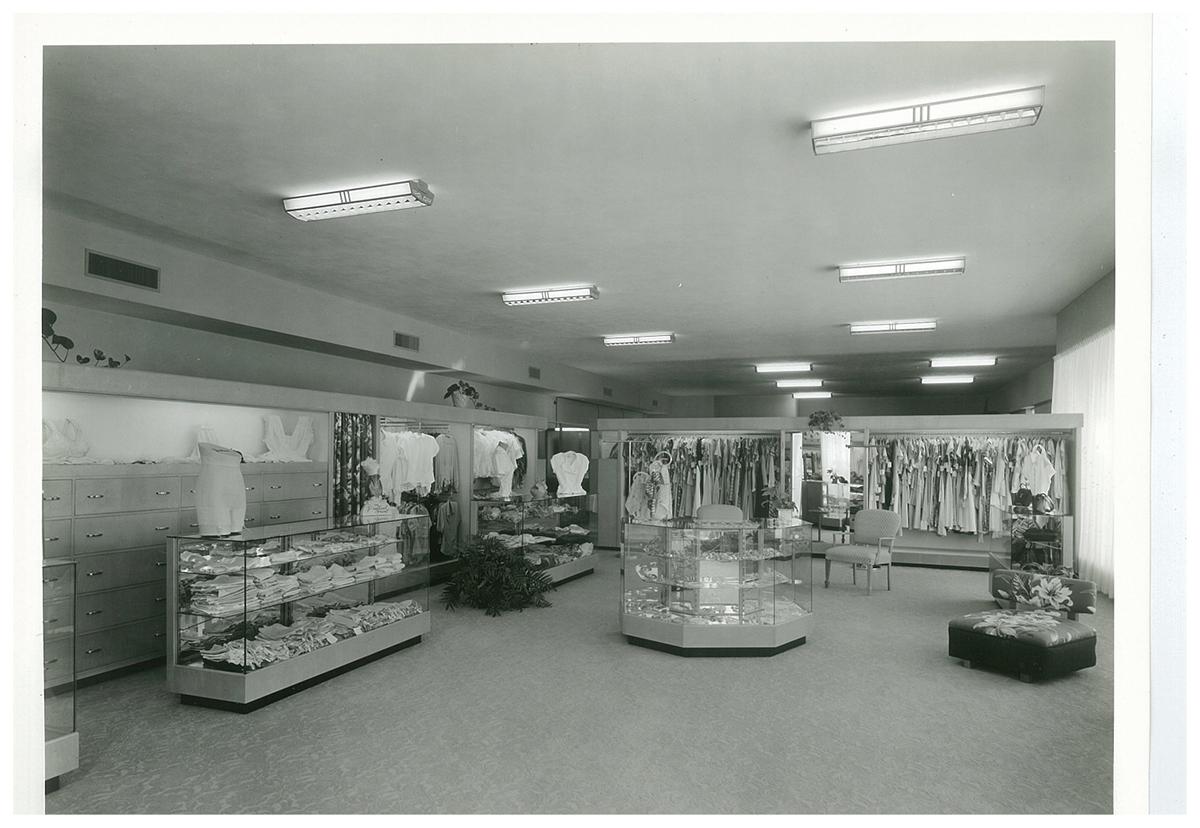 Julian Gold, Lingerie and Dress Dept. 1950s