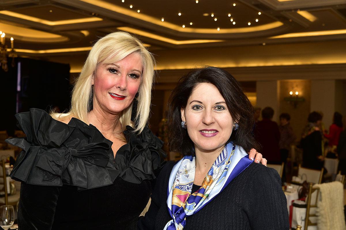 Karen Bonney and Josefina Longoria