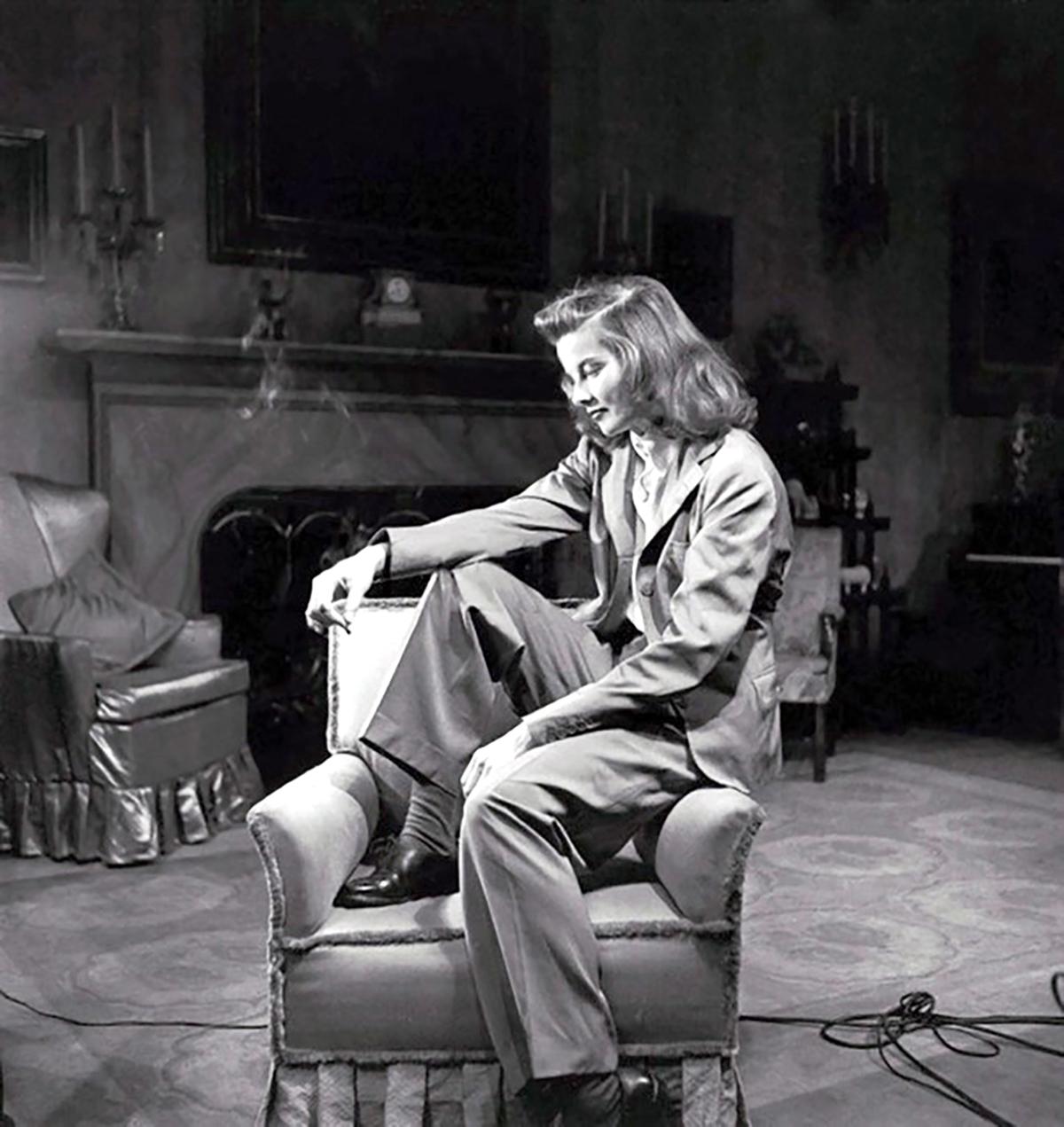 Katharine Hepburn. The Philadelphia Story, 1940