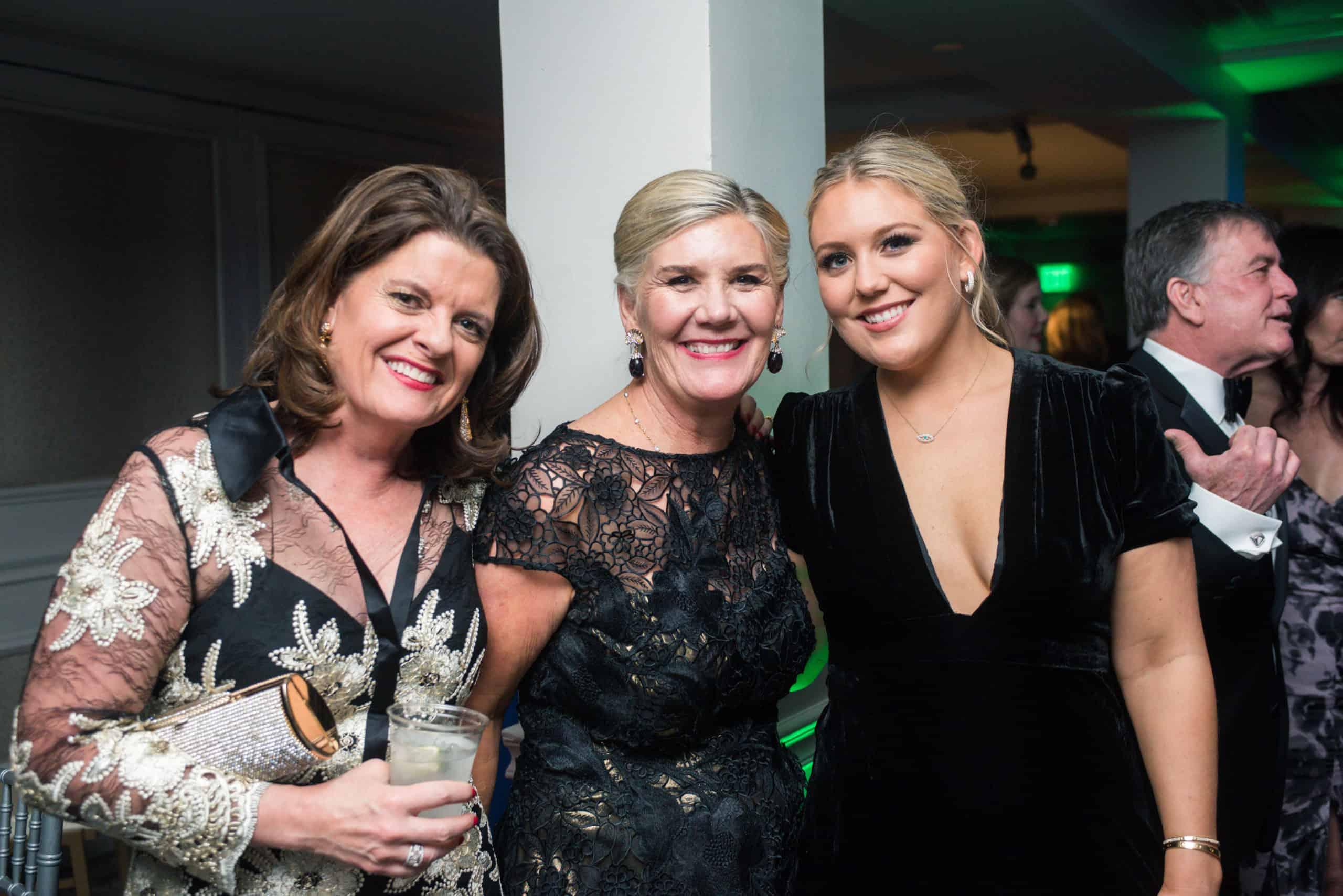 Kathy Bonner, Amy Ryder and Sarah Ryder