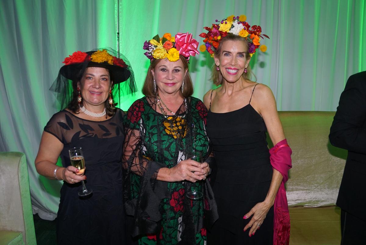 Kathy Kelleher, Cathy Nixon Atherton and Liecie Hollis
