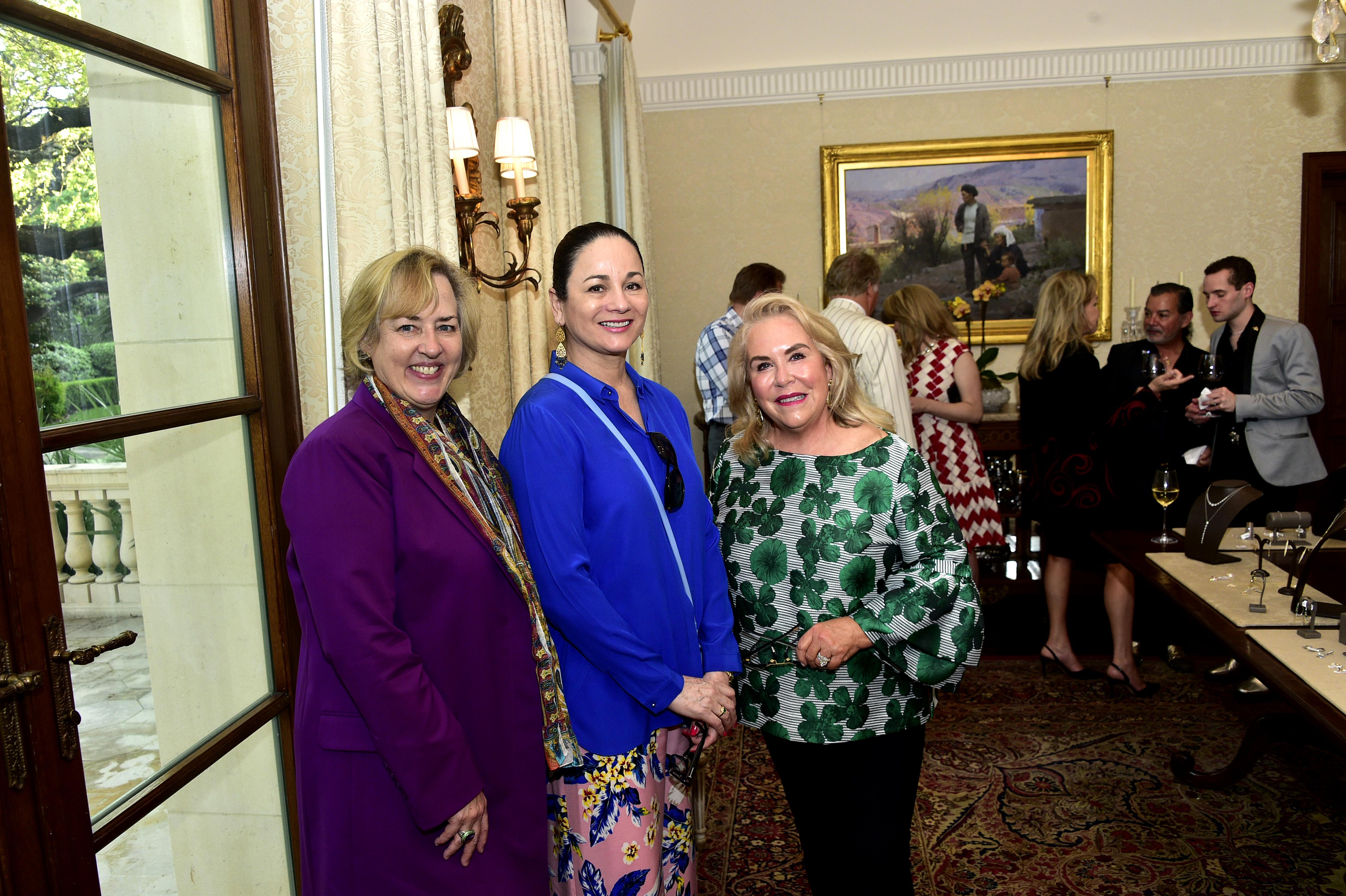 Katie Luber, Patricia Ruiz-Healy and Nancy Steves