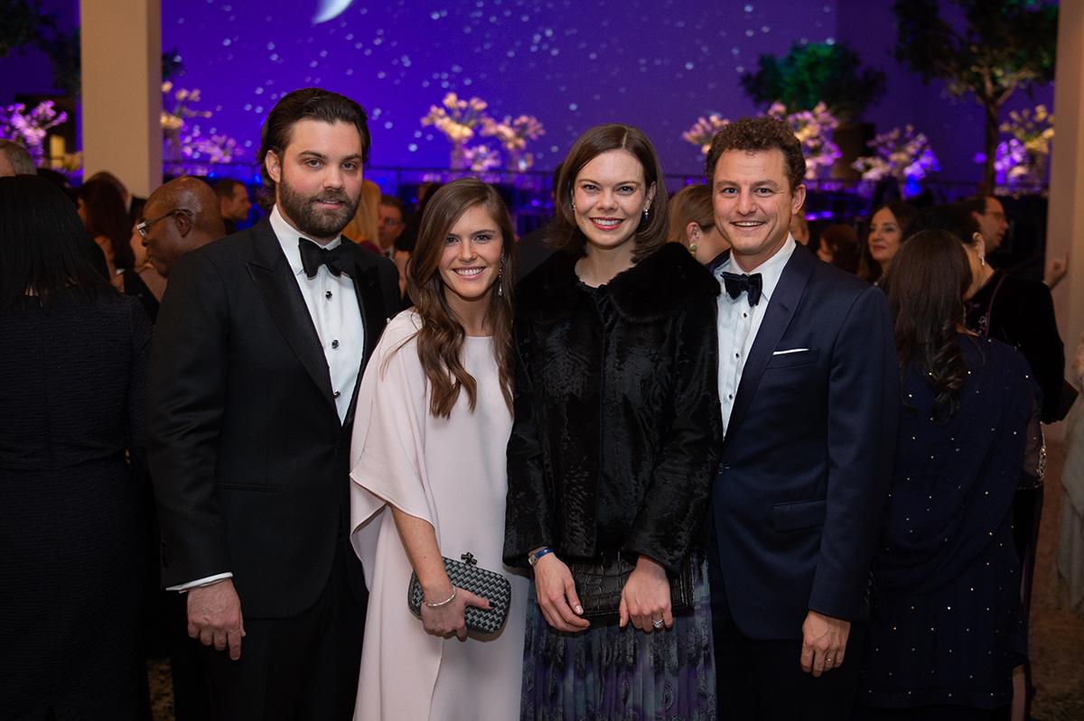 Keefer Lehner, Laura Murphy & Janie and Daniel Zilkha