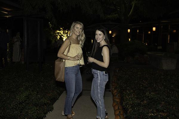 Kelsey Bazar and Megan Hensley