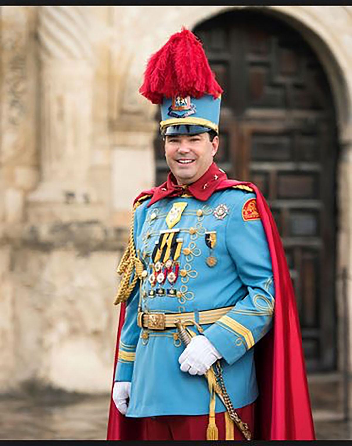 King Antonio XCVII Roger Hill III Courtesy of JB Lyde of Parish Photography