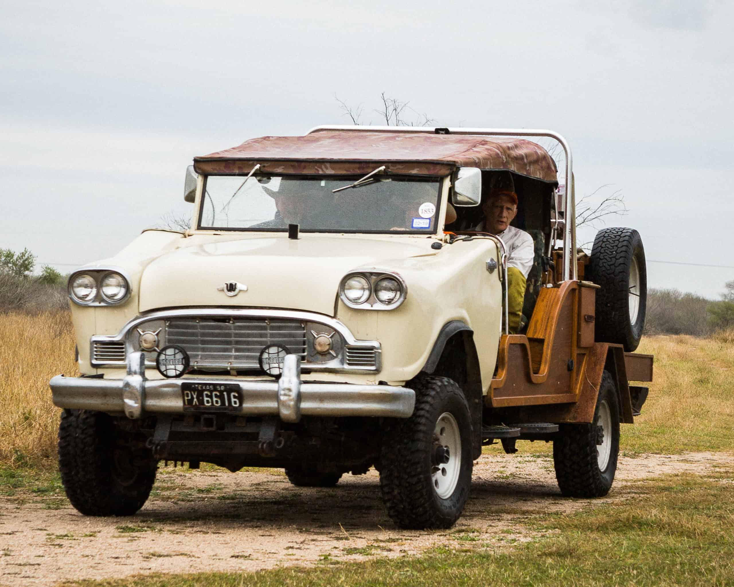 King Ranch Quail Hunting Truck