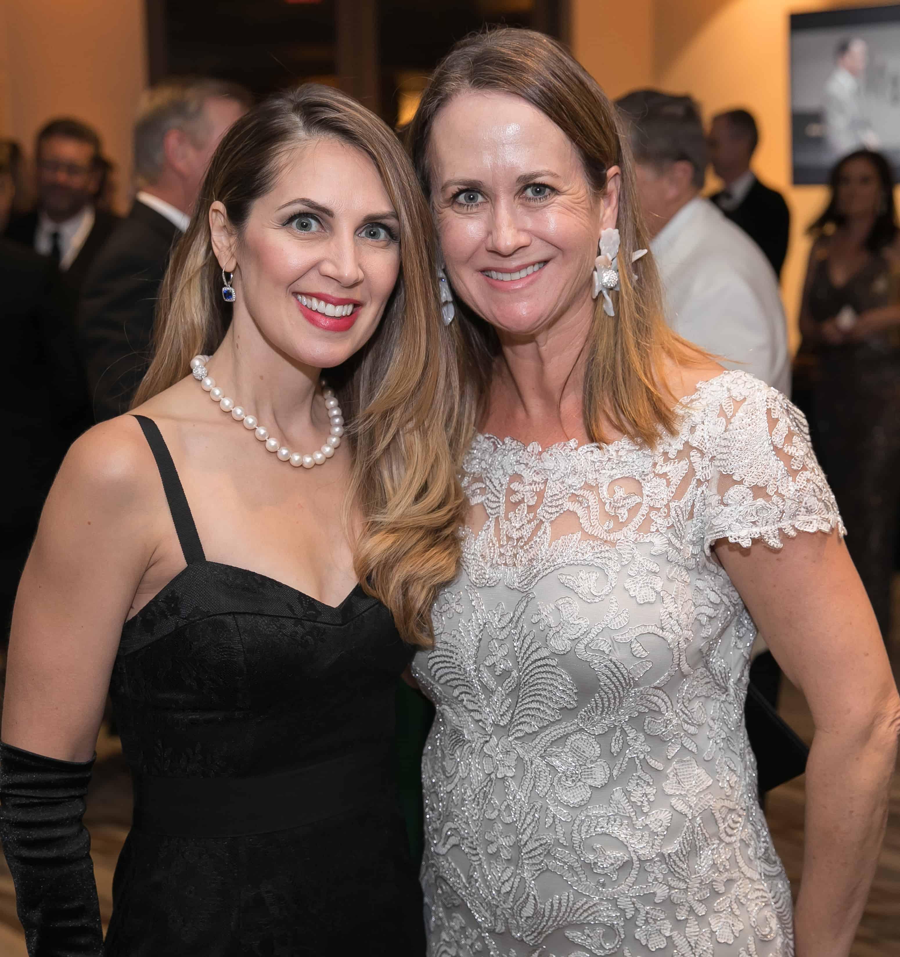 Laura Craddick and Leslie Davenport