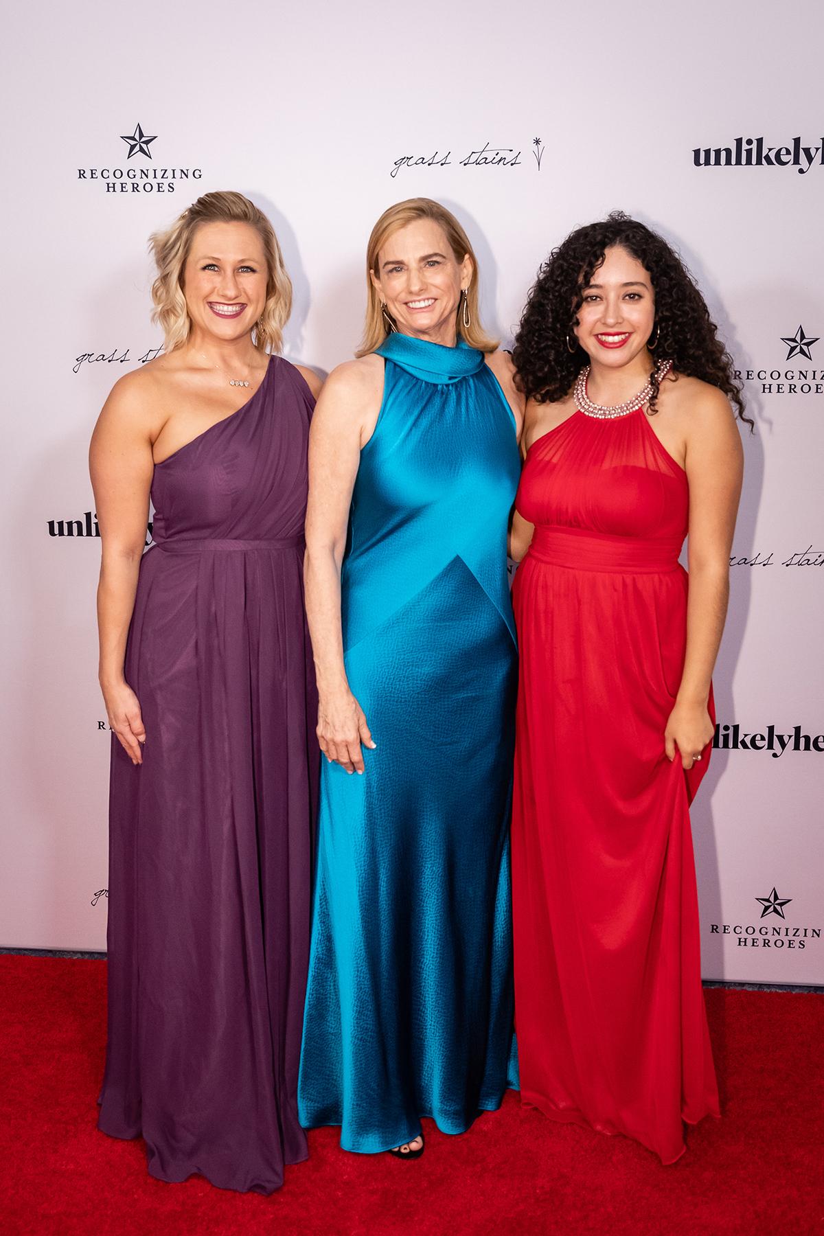 Lauren Grogan, Janet Jensen and Jacky Alvaradejo