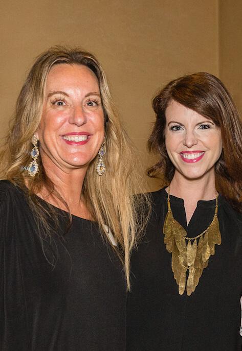 Lesa Rossick and Ellen Toxclair