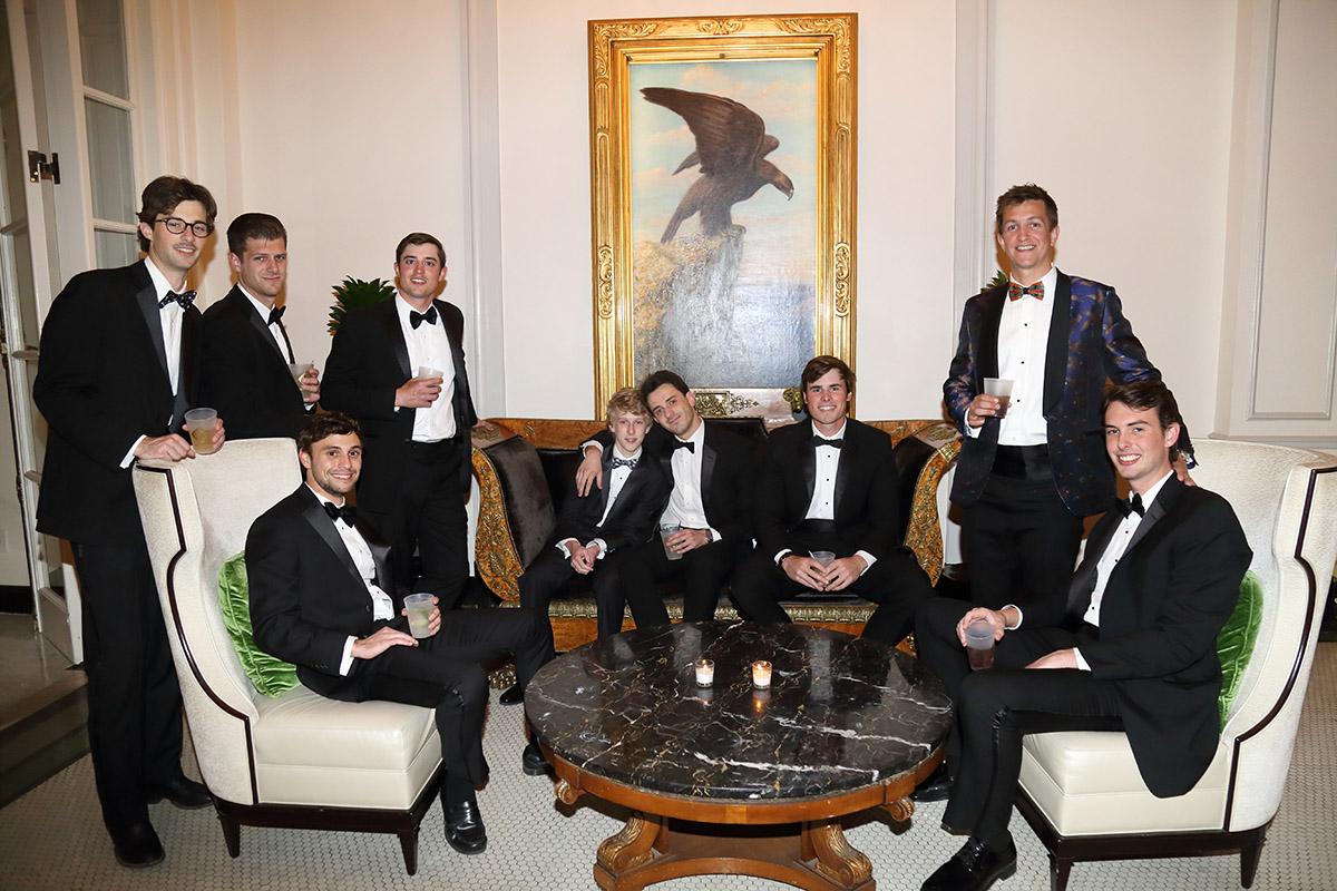 Lito Flanagan, Cullum Mills, Coalter Gebhart, Josh Arnold, Jack Herbold, Phillip Bozzo, James Nittoli, Hunter Mills and Harry Burg