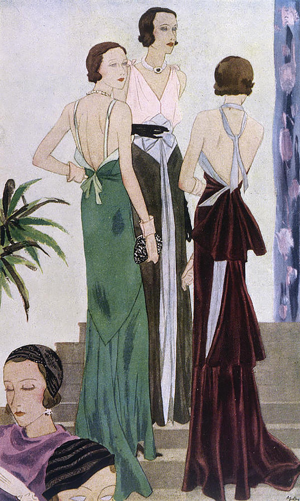 Lucien Lelong gowns, 1930s (1)