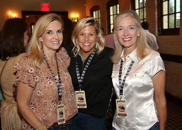 Carrie Green, Jennifer Zackry and Julianne Bartlett