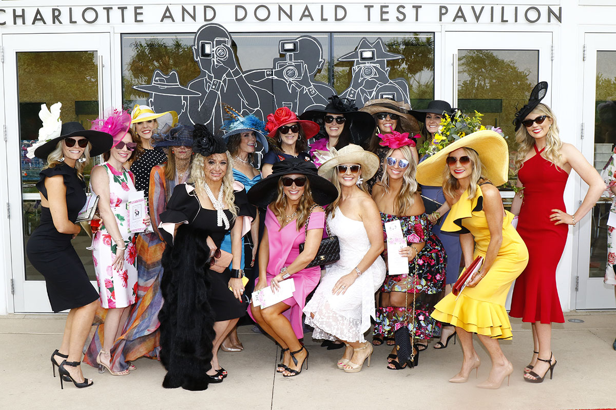 Guests at 2019 Dallas Arboretum Mad Hatters Luncheon