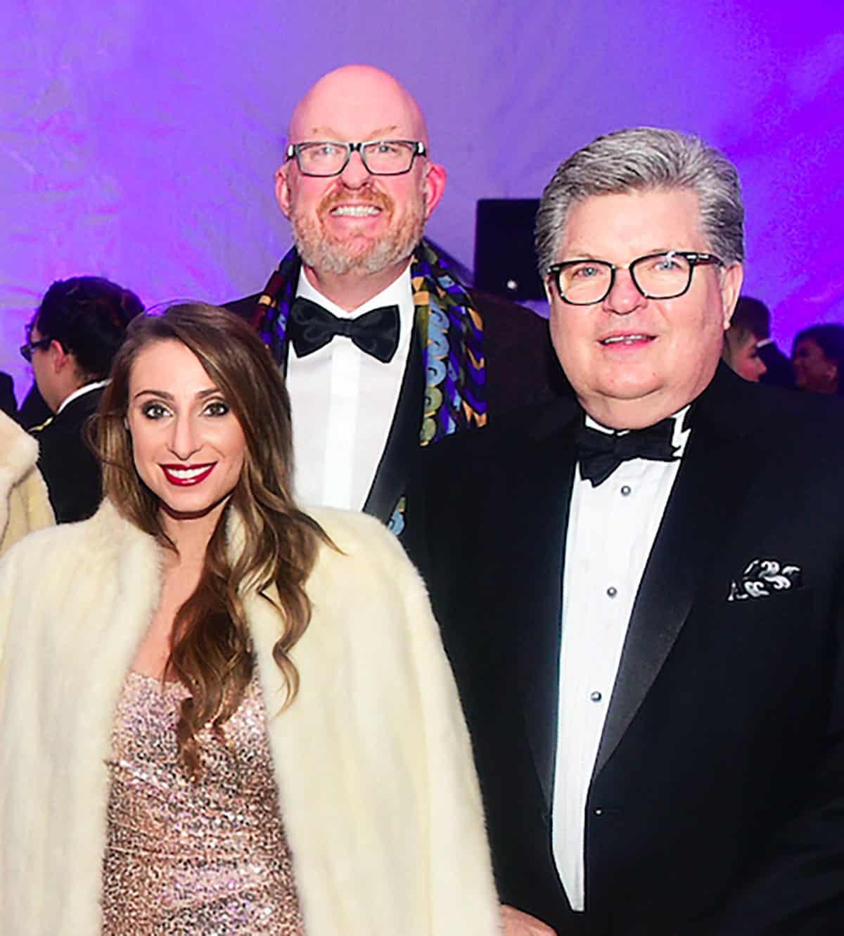 Mandy Miceli, Allen Crowder and Cliff Buech