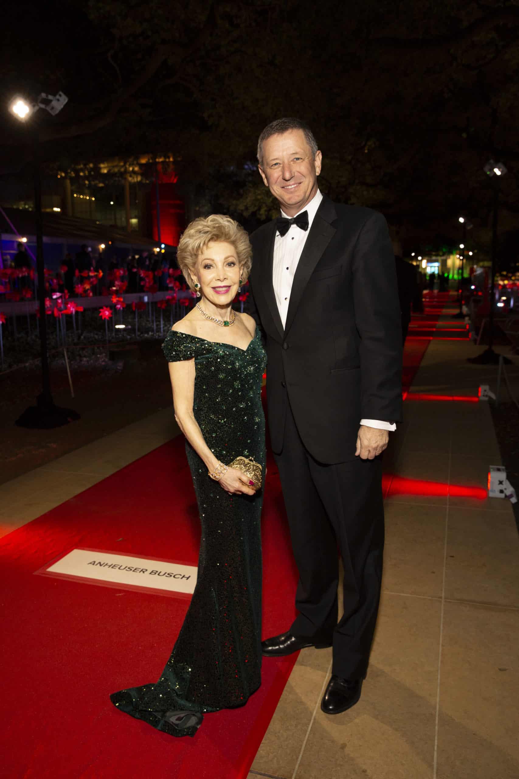 Margaret Alkek Williams and David Wuthrich