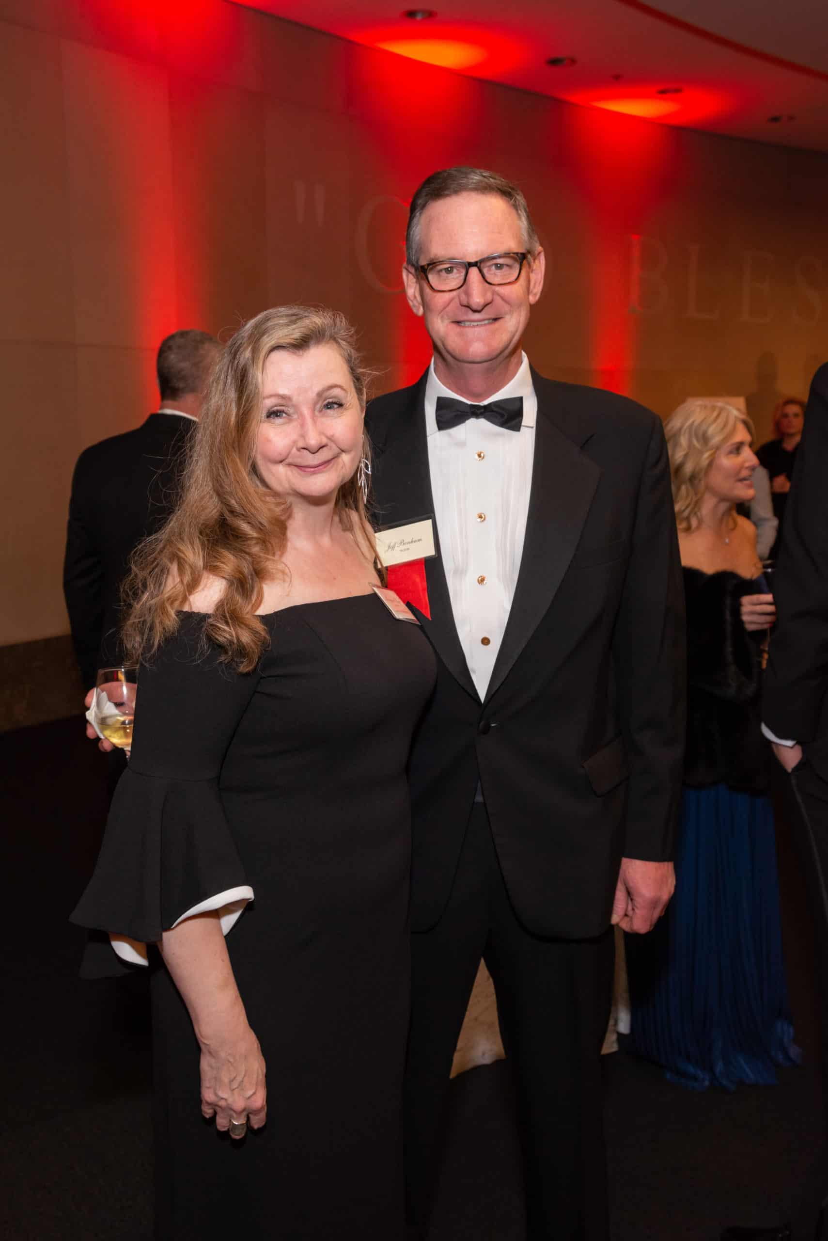 Margaret Koch and Jeff Bonham