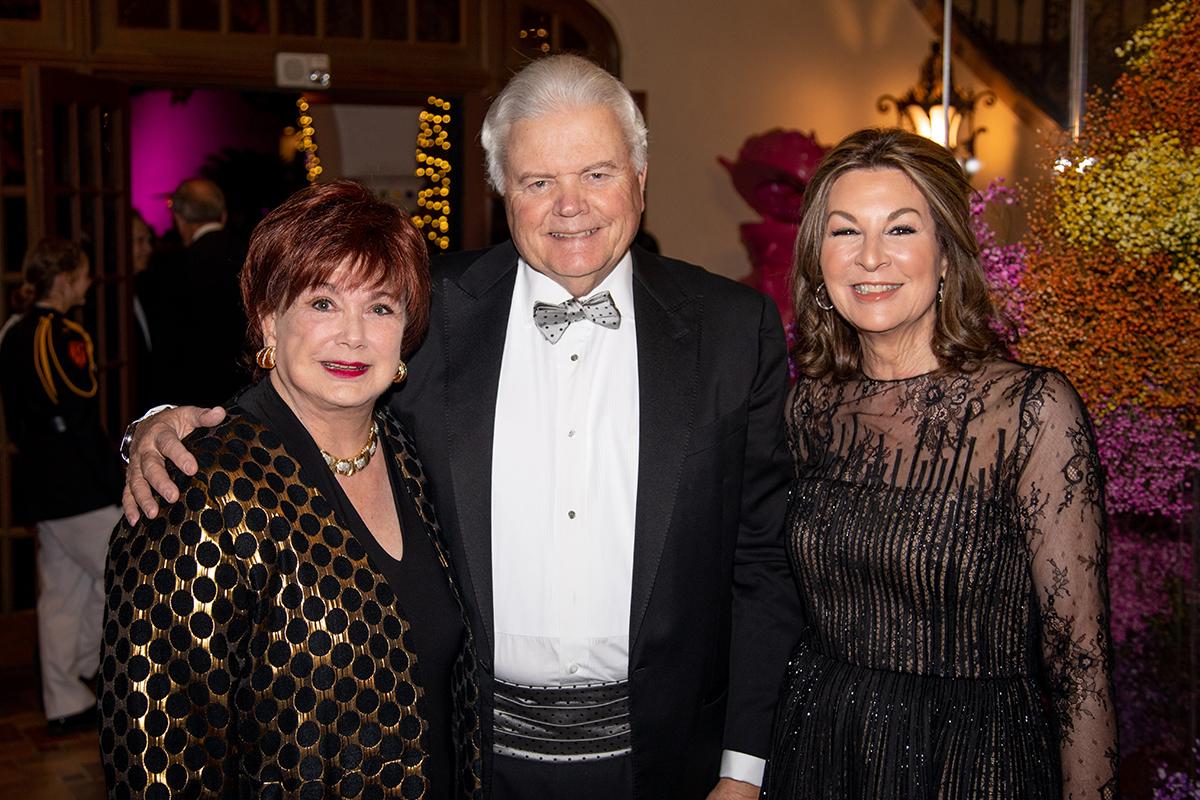 Marie Halff & Walter and Gayle Embrey