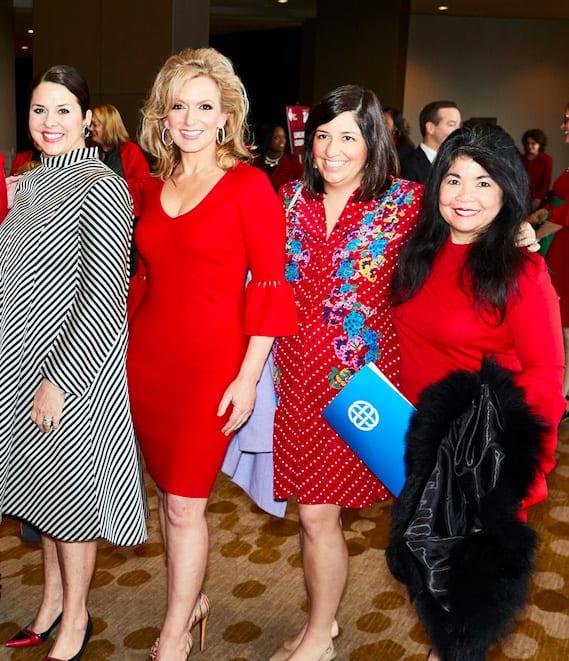 Melissa Sherrill Martin, Kate Rose Marquez, Heather Baker and Nancy Gopez
