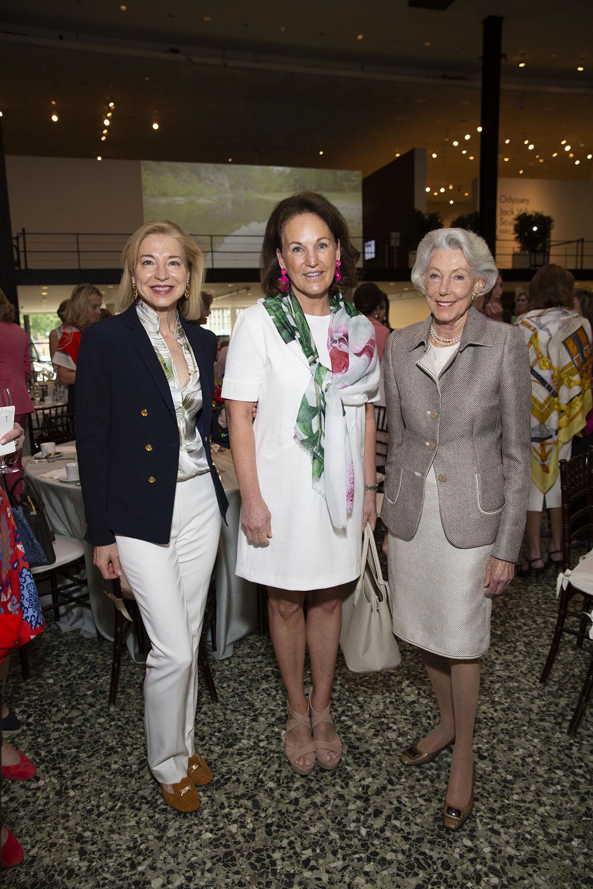 Meredith Cocke, Terry Smith and Lynda Underwood